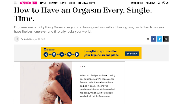 how to have an orgasm every time