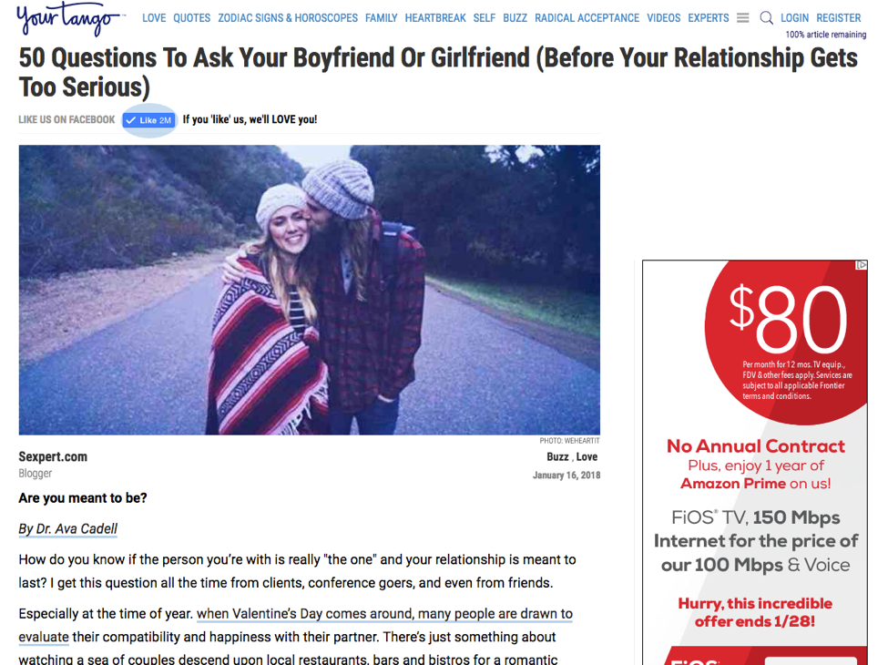 how to stop a relationship from getting too serious
